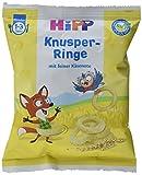 HiPP Knabberprodukte Knusper-Ringe, 7er Pack (7 x 25 g)