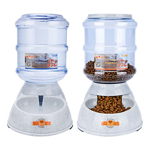 ePeTop Automatic Pet Feeder Waterer and Food Dispenser for Dogs and Cats ( Auto Water & Food Dispenser )
