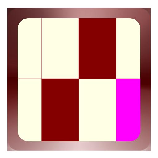 Kastanienbraun Elfenbein Spiel (Spiel Maroon)