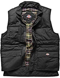 "Dickies BW11025 BK L Size Large ""Multi-Pocket"" Body Warmer - Black"