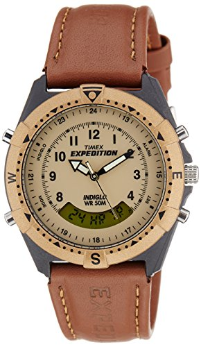 Timex Expedition Analog-Digital Beige Dial Unisex Watch - MF13