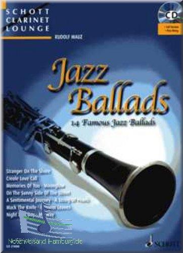 Jazz Ballads - Klarinette Noten [Musiknoten]