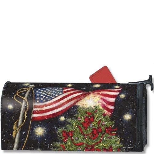 MailWraps Patriotische Weihnachten Mailbox, 05009Buch