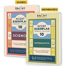 Educart Mathematics & Science NCERT Exemplar (Problems Solutions 2021) For Class 10 (Set of 2 Books)