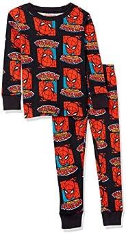 Amazon Essentials Niño Disney Star Wars Marvel Conjuntos de pijamas de algodón con corte ajustado