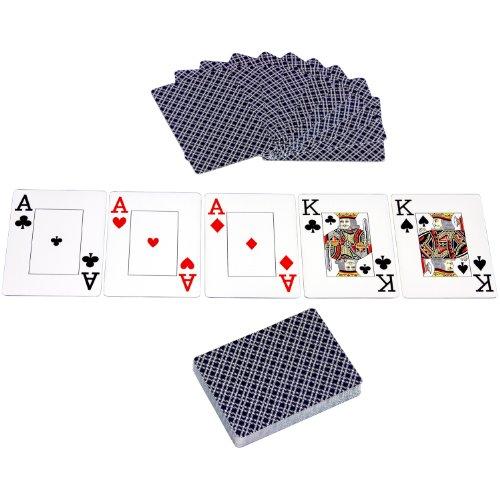 Maxstore Ultimate Pokerset mit 1000 hochwertigen 12 Gramm METALLKERN Laserchips, inkl. 2x Pokerdecks, Alu Pokerkoffer, 5x Würfel, 1x Dealer Button, Poker, Set, Pokerchips, Koffer, Jetons - 9