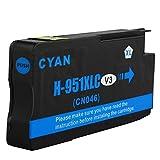 1 Drucker Patrone für HP 951XL Cyan Officejet Pro 8610 8620 8615 mit Chip