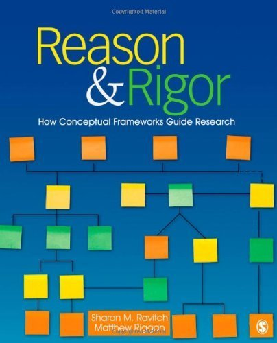 Reason & Rigor: How Conceptual Frameworks Guide Research by Ravitch, Sharon M. (Michelle), Riggan, J. (John) Matthew (Ma (2011) Paperback