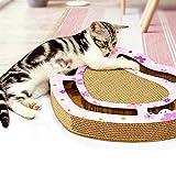shape Cat Scraching Board Lounge Cartón Corrugado Papel Corrugado con...