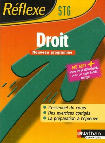 DROIT STG MEMO REF N20 2006 par LAURENCE GARNIER