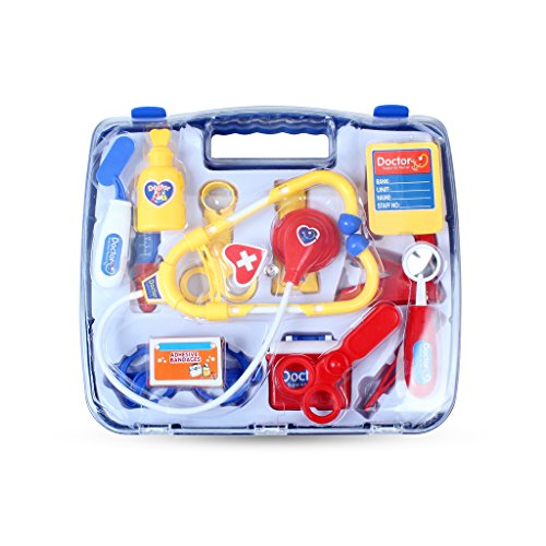 Online Kostüm Medicale (Edealing (TM) Simulation Medizin Box Doctor Toys Set Doctor Krankenschwester Medical Kit Playset Care Box Doctor Tools Spielzeug für Kinder Child)