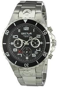 Sector 175 R32736 - Reloj de caballero de cuarzo, correa de acero inoxidable color plata de Sector