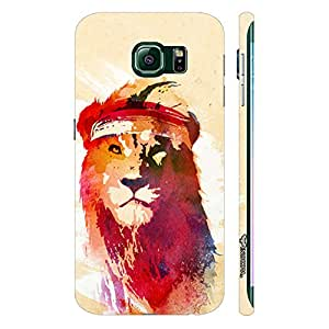 Samsung Galaxy S6 Edge Rapper Simba designer mobile hard shell case by Enthopia