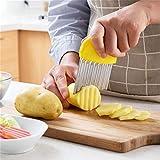 Best Slicers végétales - Madnlg 2 Pcs/Lot Cuisine Légumes Outils Végétale Wave Review
