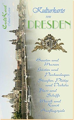 Kulturkarte von Dresden: Stadtplan, Stadtführer, Ausflugsführer, 1:6000