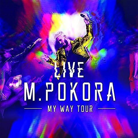 My Way Tour Live - Édition collector (Coffret 2CD + DVD inclus scène pop up 3D + 2 titres inédits + affiche officielle dédicacée + 5 cartes postales + coulisses de la tournée)