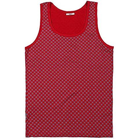 Classic Plaid Vest/ giubbotto caldo/
