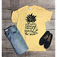 565pir Be a Pineapple Stand Tall Wear a Crown Be Sweet TShirt Pineapple Shirt Womens Clothing Womens TShirt Crown Shirt Gift