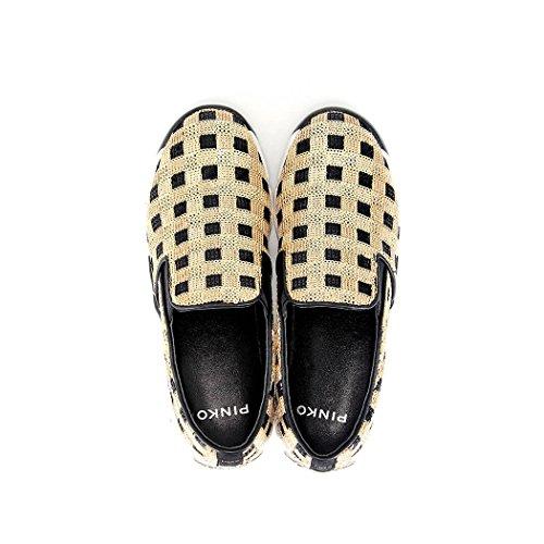 Scarpe Donna PINKO SEQUINS 1 Sneaker Autunno Inverno 2016 gold