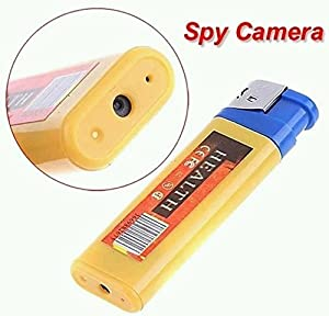 equipo espionaje: Electro-Weideworld - Encendedor espía USB con cámara, Mini DV cámara más ligera ...