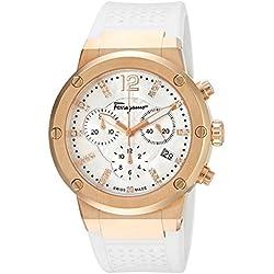 Salvatore Ferragamo Timepieces Reloj de Cuarzo Woman Blanco 39 mm