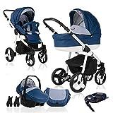 bebebi | modèle Fizzy | Isofix Base & siège auto | 3en 1Combi Poussette