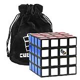 Cubikon Original 4x4 Rubik's Cube - 4x4 Zauberwürfel (verbesserte Version) inkl Tasche