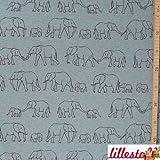 Stoffe-Monster Elefantenparade Jersey SUSALABIM 0,50m x VB