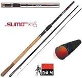 DAM Sumo GT4 Method Feeder 13', Feederrute, 3.90m 75-150g, 3+3 teilig