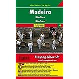 Freytag Berndt Autokarten, Madeira, Island Pocket + The Big Five, wasserfest - Maßstab 1:75.000