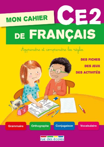Mon cahier de français CE2