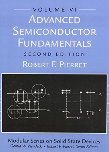 Advanced Semiconductor Fundamentals (Modular Series on Solid State Devices, V. 6) Modulare Elektronik