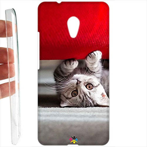 Custodia cover RIGIDA per Meizu M5s - 135 gatto