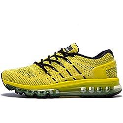 Onemix Zapatos para Correr en Montaña y Asfalto Aire Libre y Deportes Zapatillas de Running Padel para Hombre