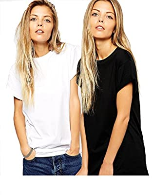Avaatar Women's Cotton T-shirts (AWHS-02) - Pack of 2
