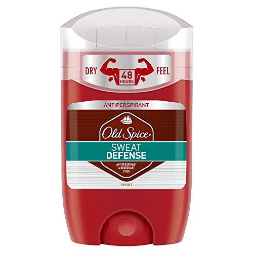 Old Spice Anti-Transpirant Stick Sweat Defense, 3er Pack (3 x 50 ml)