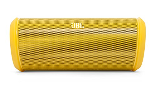 Price comparison product image JBL Flip 2 Small Portable NFC Bluetooth Wireless Rechargeable Stereo Speaker with Built-In Microphone and Carry Case - Yellow