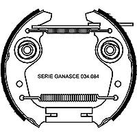 metelligroup 51-0004 Kit Premontados, Paquete Compuesto de 2 Piezas de Zapatas de Frenos Premontados, Repuestos para Automoviles, Montaje Fàcil, Ràpido y Seguro