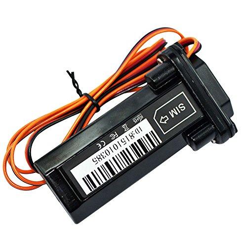TOOGOO GPS Tracker Wasserdichte Locator Elektro Fahrrad Motorrad Auto Alarmanlage Eingebaut Batterie (Gps 12v Batterie)