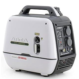 Atima Inverter Groupe électrogène Générateur Onduleur 2000W avec moteur Yamaha Portable Silencieux à Essence AY2000i