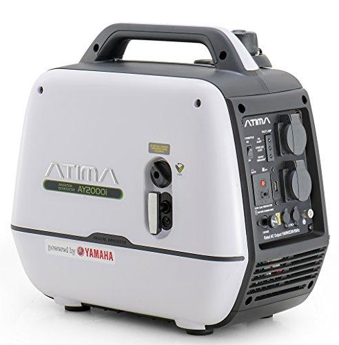 Atima Inverter Groupe électrogène Générateur Onduleur 2000W avec moteur Yamaha Portable Silencieux...