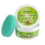 Bambus Premium Reinigungs- und Polierstein 500g