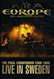"EUROPE """"THE FINAL COUNTDOWN TOUR 1986 LIVE IN SWEDEN"