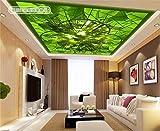Acutray Große Personalisierte Wandmalereien Schlafzimmer Wohnzimmer Villa Hintergrund Wallpaper Wallpaper Decken Grüne Grüne Grüne Bambus Landschaft