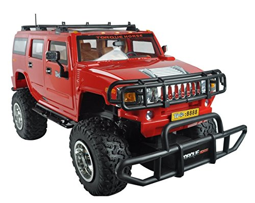 Generic 1:6 Scale High Speed Cross-Country Rc Hummer - Shock Resistant + Huge Sized + Off Road