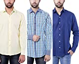 Tag & Trend Casual Shirt Combo Pack of 3...