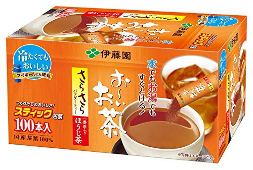 Itoen Japanese Tea ITO EN Oi tea rustling Hojicha 100 pieces stick