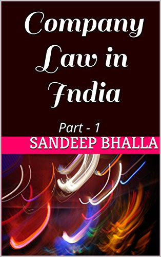 Ebook On Indian Company Law