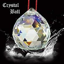 Reiki Crystal Products Vastu/Feng Shui Glass Crystal Hanging Balls 40 Mm For Positive Energy - White
