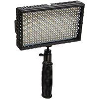 Polaroid 312haute performance LED Lampe de Appareil photo/Caméscope Vidéo à température variable (3200K 5600K) & Régulateur de luminosité (contient batterie, chargeur, Filtre, Housse)